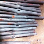 Bronze Rivet Railing