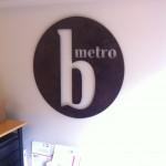 B-Metro Sign