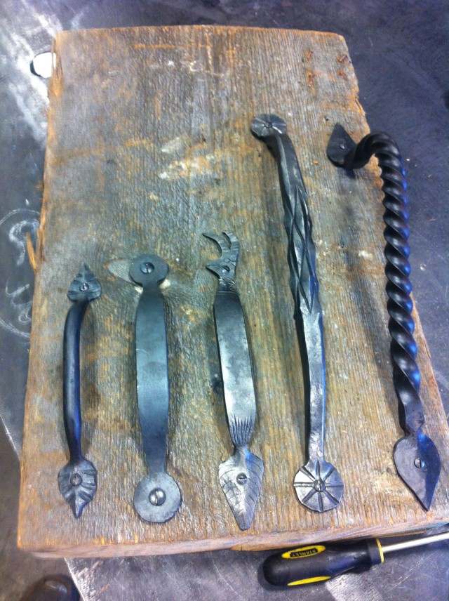Hand Forged Hardware: Handles