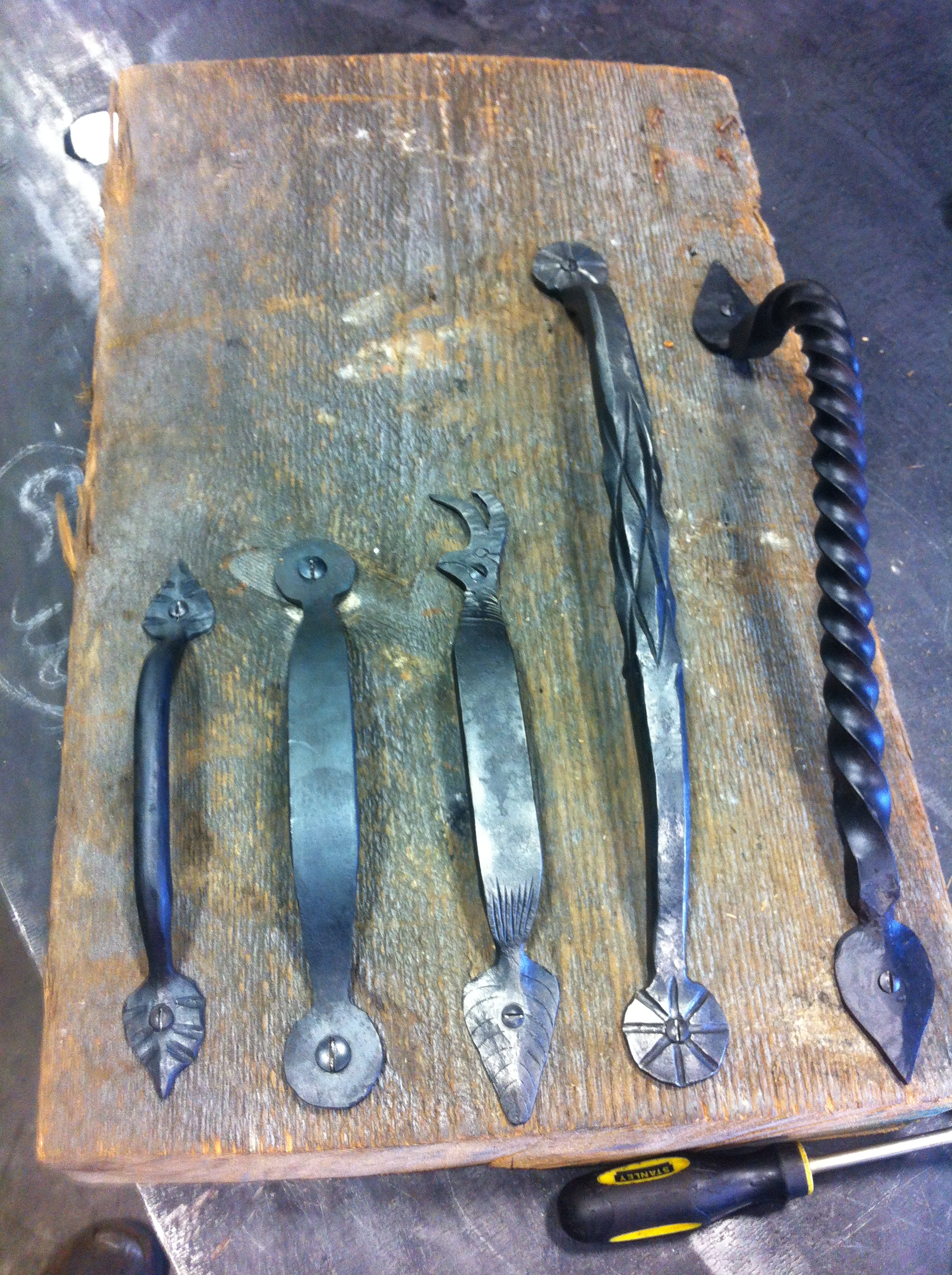 Hand Forged Hardware Handles