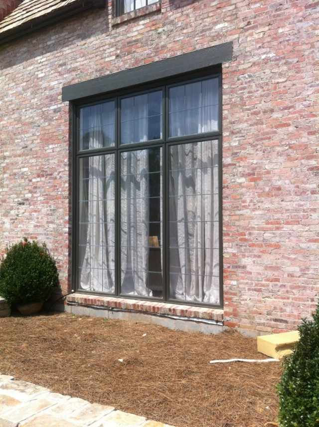 Custom lead glassed windows