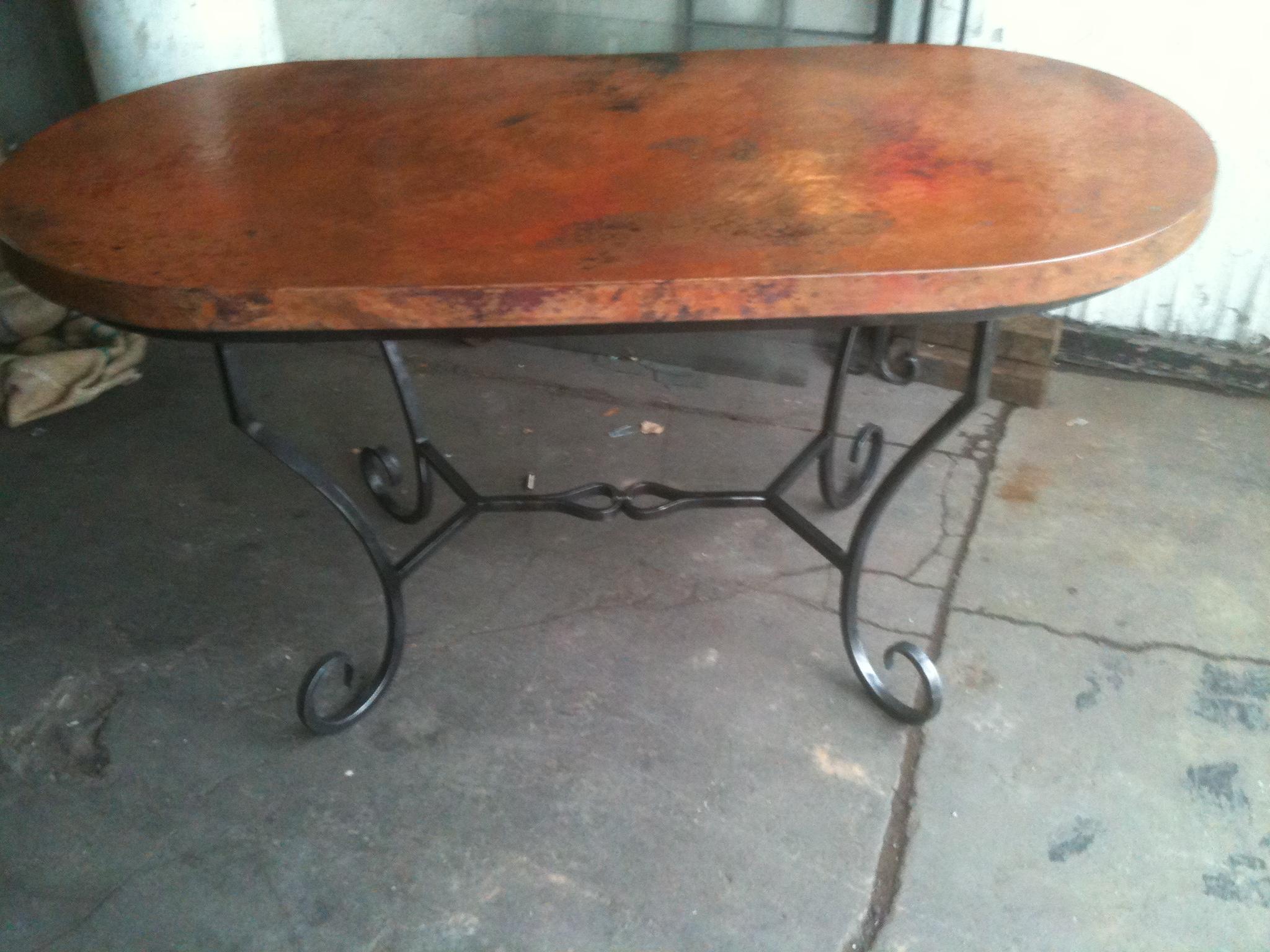 Table – Bent Scroll Leg