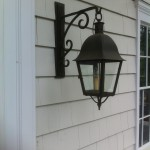 A lantern and bracket Steve Ledford made years ago.