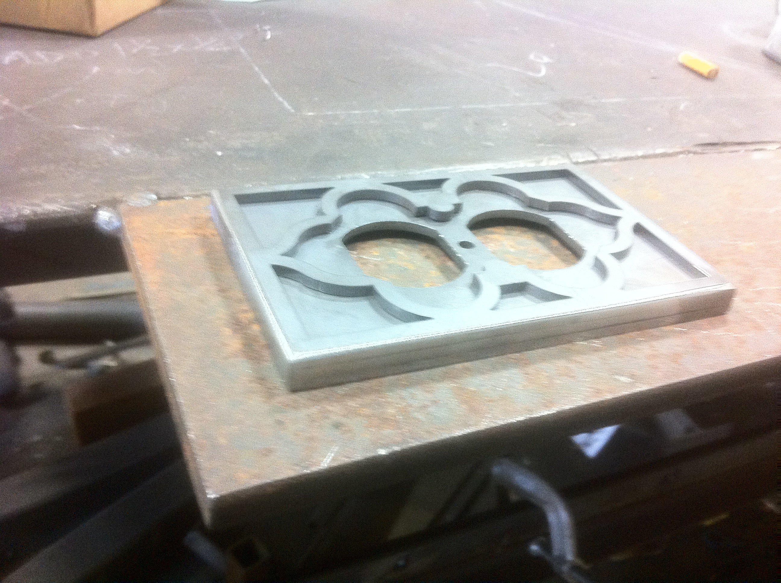 Plasma Cutter – Light switch cover