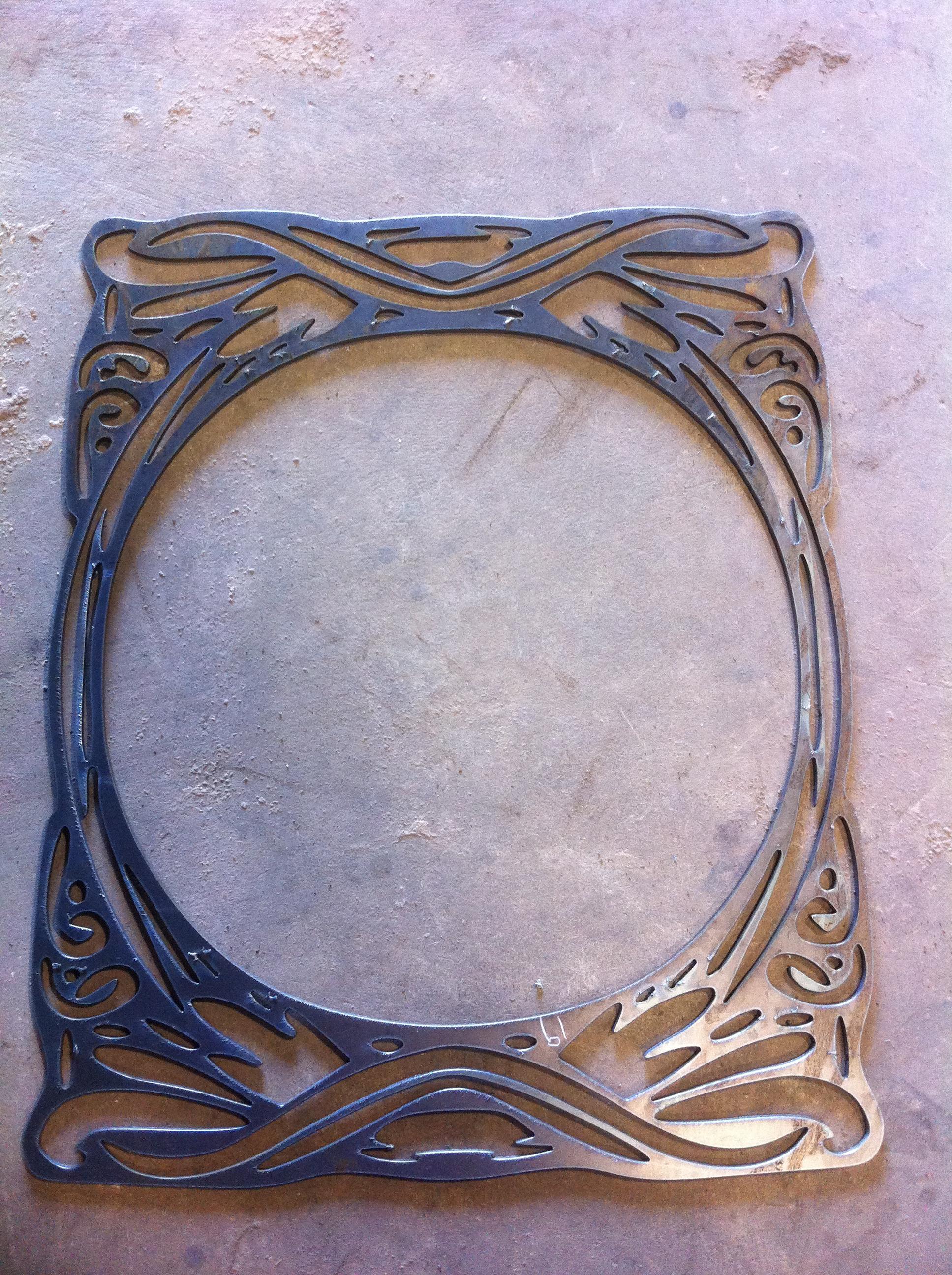 Plasma Cutter – Art Nouveau Frame