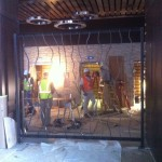 A 10' x 10' screen made for the lobby of the new Weston Hotel.